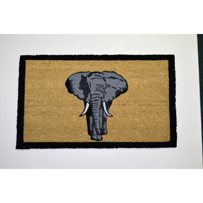 PVC Bleach Elephant Doormat