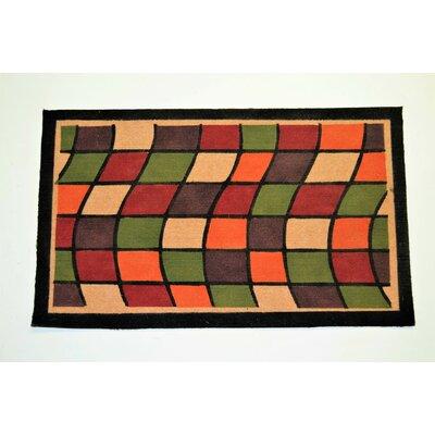 Window Doormat Mat Size: 26 x 4
