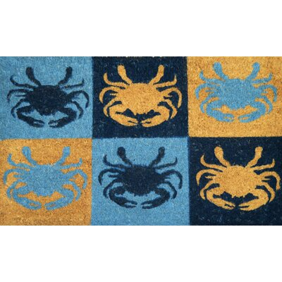 Blue Crab Doormat
