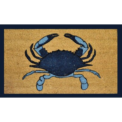 Single Blue Crab Doormat