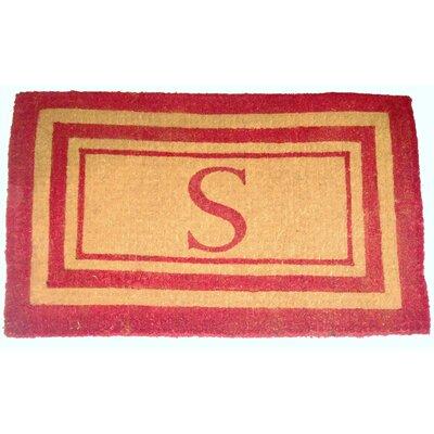 Straub Monogram Doormat