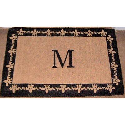Straub Handmade Monogram Doormat
