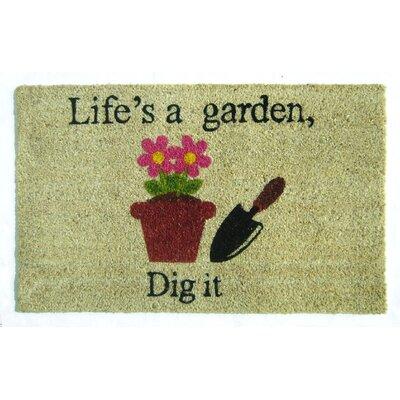 Evia Lifes a Garden Doormat