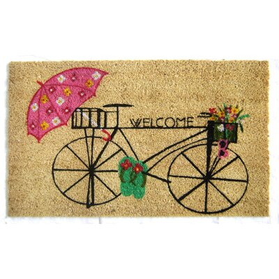 Audrie Bicycle Welcome Doormat