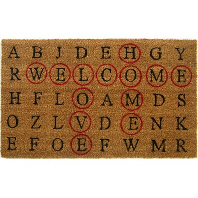 Armond Crossword Doormat