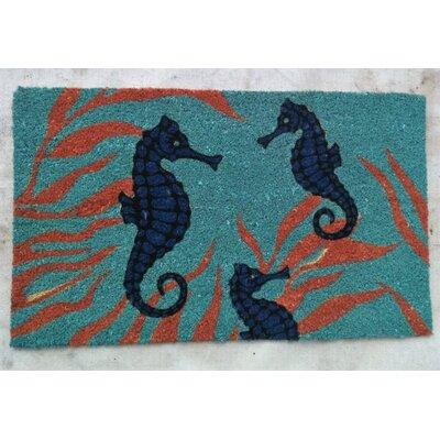 Briscoe Seahorses PVC Bleach Doormat