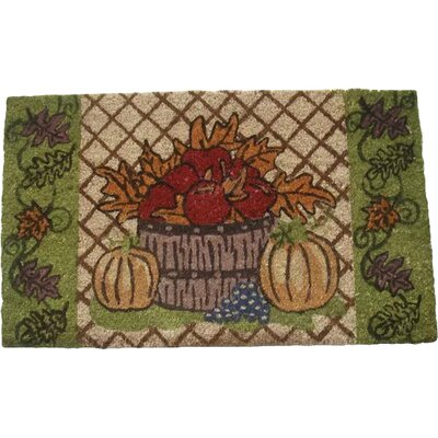 Harvest Doormat Rug Size: Rectangle 18 x 30