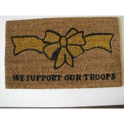 Support Our Troops Doormat