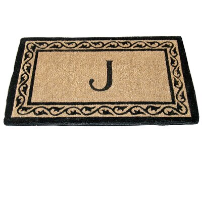 Monogram Mat Creel Ivy Border Coco Doormat