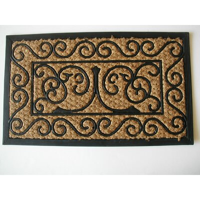 Tuffcor Panama Cross Doormat Rug Size: Rectangle 18 x 30