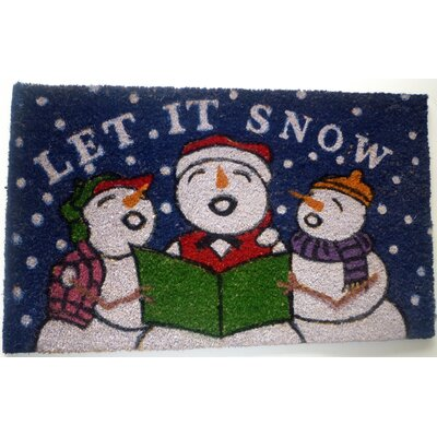 Snowmen Doormat Mat Size: Rectangle 18 x 30