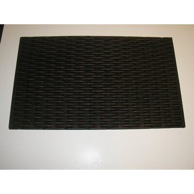 Solid Doormat Mat Size: Rectangle 18 x 30