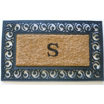 Tuffcor with Border Doormat Mat Size: Rectangle 18 x 30