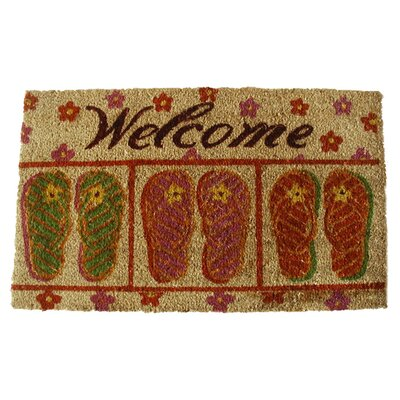 Flip-Flop Welcome Doormat