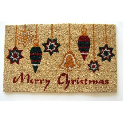 Ornaments Merry Christmas Doormat