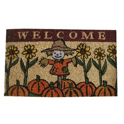 Scarecrow Doormat Mat Size: 18 x 30