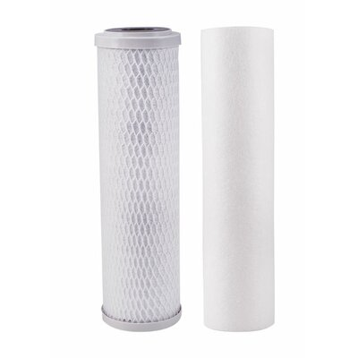 2-Stage Lead Cyst VOC Carbon Block Replacement Filter WP560088