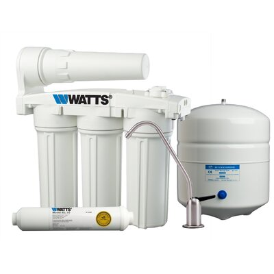 5-Stage Manifold Reverse-Osmosis Filtration System