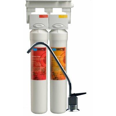 2-Stage Filter Pure Under-sink Filtration System