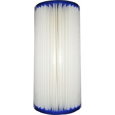 50-Micron Big Blue Pleated Sediment Whole House Replacement Filter WP202135