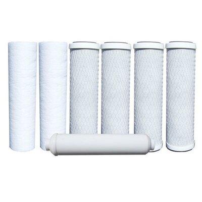7 Piece Reverse-Osmosis Replacement Filter Set