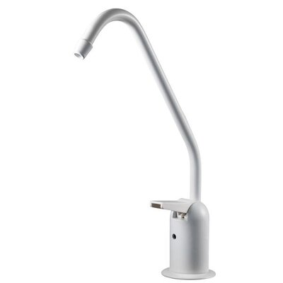 Single Handle Standard Kitchen Faucet Finish: White