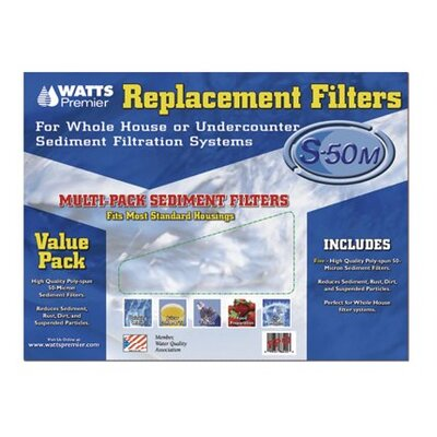 5 Piece Whole House Replacement Filters Set WP500299