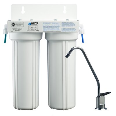 Two Stage LCV Under Counter Water Filter
