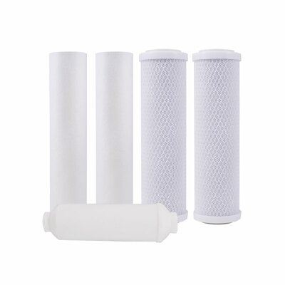 Annual Filter Pack for Four Stage Reverse Osmosis System 560025