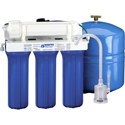 Watts Premier Five Stage EPA / ETV Verified Reverse Osmosis System with Monitor Faucet at Sears.com