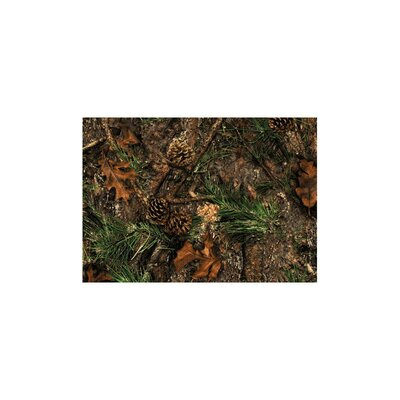 Wildlife Mixed Pine Novelty Area Rug Rug Size: 31 x 44