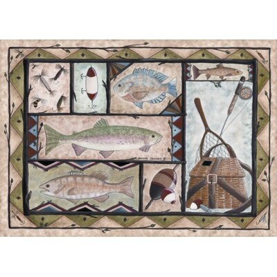 Fishing Doormat