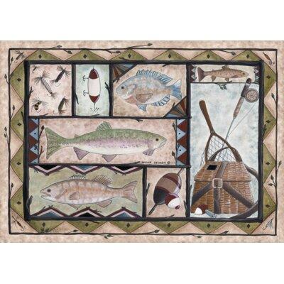 Fishing Door Mat