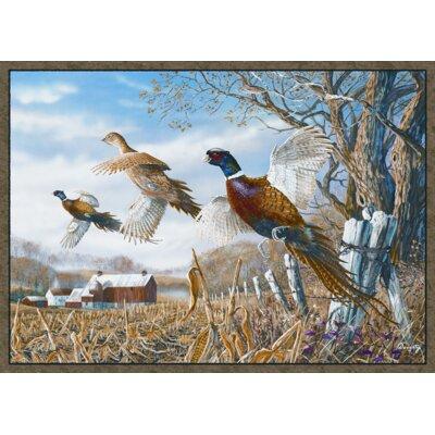 Pheasant Doormat