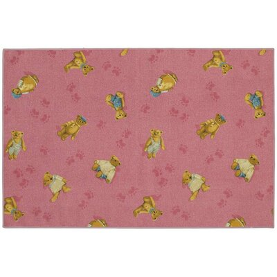 Childrens Play Plushy Bears Area Rug Rug Size: Rectangle 4 x 6