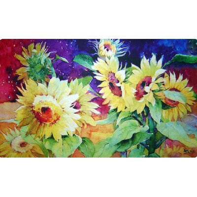 Summer Sunflower Doormat