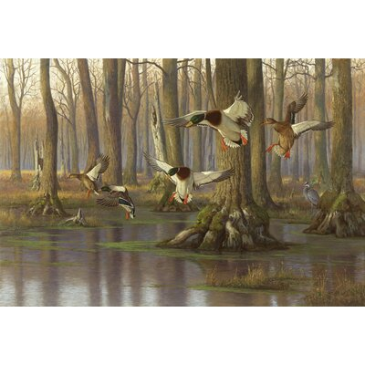 Lambson Mallards Peaceful Pond Doormat