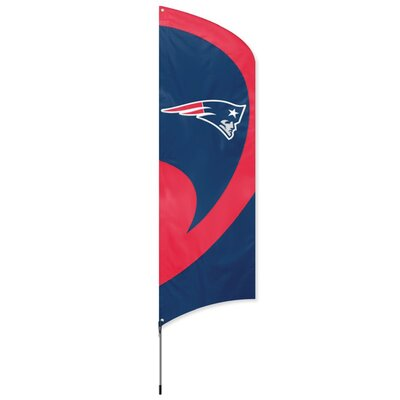 Tall NFL Team Flag NFL Team: New England Patriots TTNE