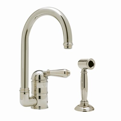 Country Single Handle Bar Faucet Finish: Satin Nickel