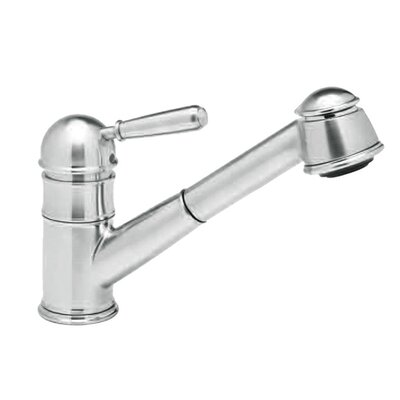 Country Single Handle Kitchen Faucet Finish: Polished Chrome