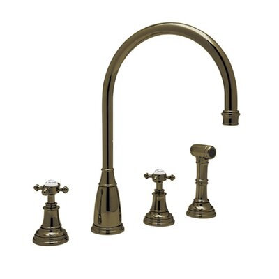 Perrin and Rowe Double Handle Athenian Finish: English Bronze