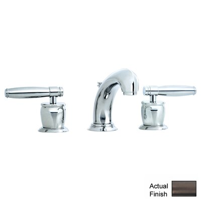 Zephyr Double Handle Widespread Bathroom Faucet with Pop-Up Waste and Lever Handle