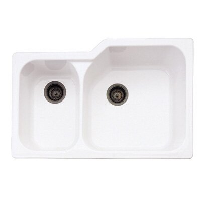 Undermount Kitchen Sink with Large Bowl in Matte Black Fireclay