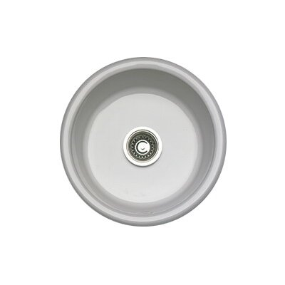 Round Prep/Bar Sink Finish: Biscuit