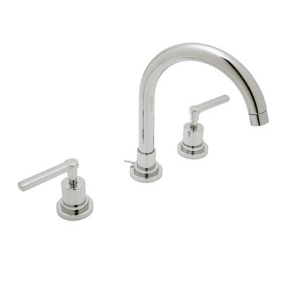 Lombardia Widespread Double Handle Bathroom Faucet Finish: Polished Chrome