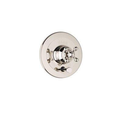 Pressure Balance Diverter Faucet Shower Faucet Trim Only with Cross Handle