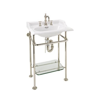 Glass 31 Console Bathroom Sink
