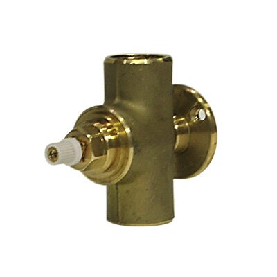 0.75 Concealed Wall Valve Rough Body Only Clockwise Opening Volume Control Trims