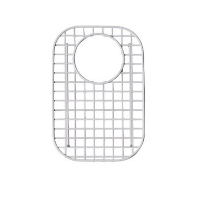 Wire Sink Grid Kitchen Sinks Small Right Hand Bowl in Stainless Steel