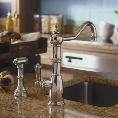 Perrin and Rowe Single Handle Kitchen Faucet Finish: Polished Chrome